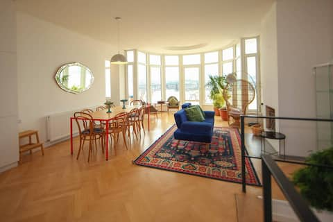 ❀Perfect Penthouse apt. w/Huge Terrace + city views❀