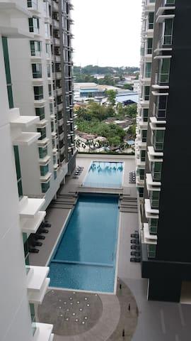 Aliff Residences 1Room Apt@Johor Bahru City Ctr Sg