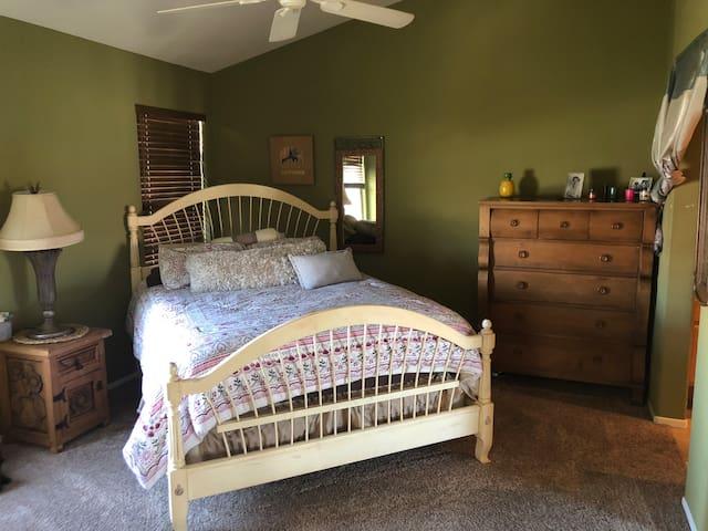 Master bedroom in Sorrento Valley