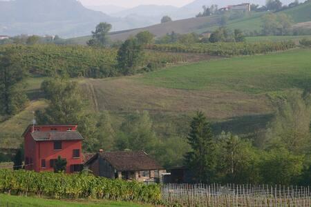 Lovely private room in countryside villa - Pianello Val Tidone - 独立屋