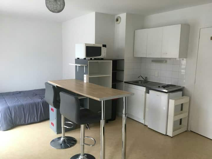 Nice flat in the city center, parking