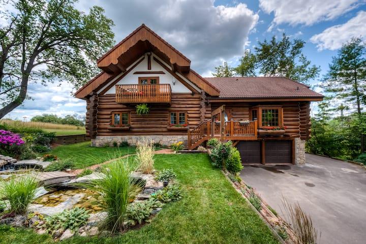 Austrian Log house