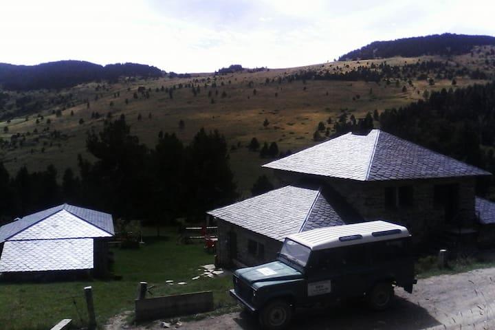 Refugio de montaña muy tranquilo