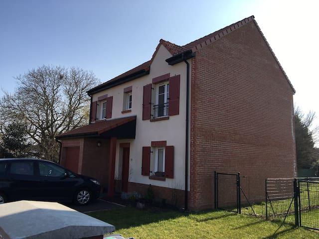 Maison individuelle avec jardin - Hallennes-lez-Haubourdin - Casa
