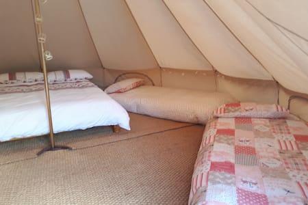 Willow Bell Tent -Westport Glamping Bell Tent