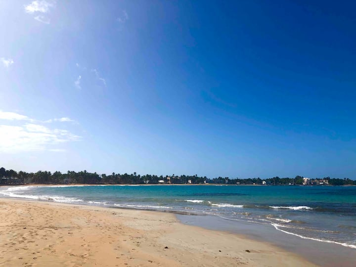 Great spot steps from beautiful Luquillo beach
