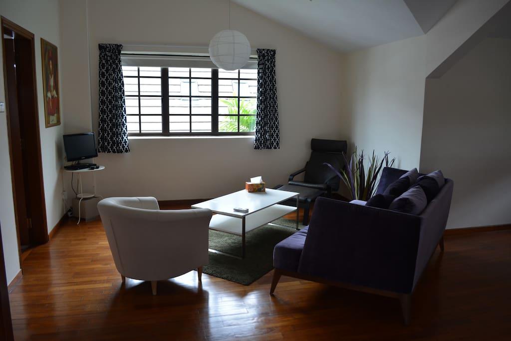 Main Bedroom Sitting Area