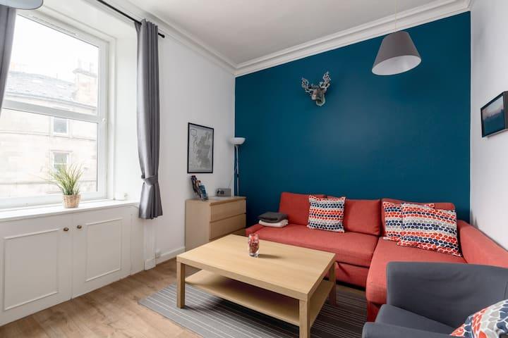 Lovely 1 bed flat in the heart of Edinburgh