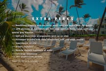 Extra perks when booking with us