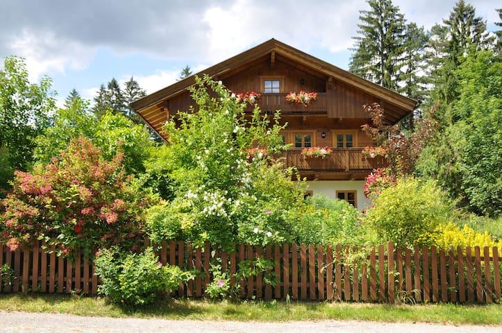 Ruhige Ferienwohnung mit großem Freisitz - Schliersee - 아파트