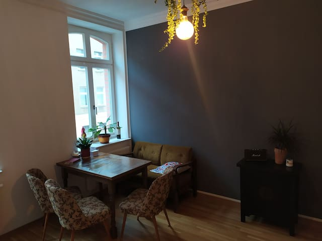 Gemütliche Wohnung in Leipzig/Plagwitz