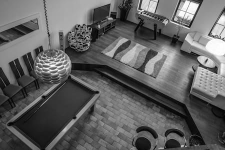 Beau loft de 143m², hyper centre, Mac Arthur à 5mi - Roubaix