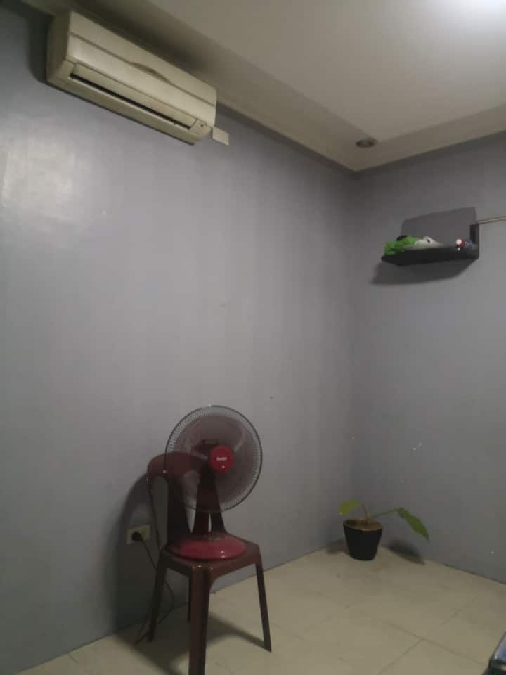 Air-conditioned room