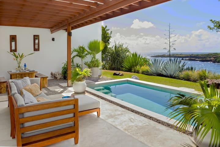 Caribbean Modern Ocean Front Villa
