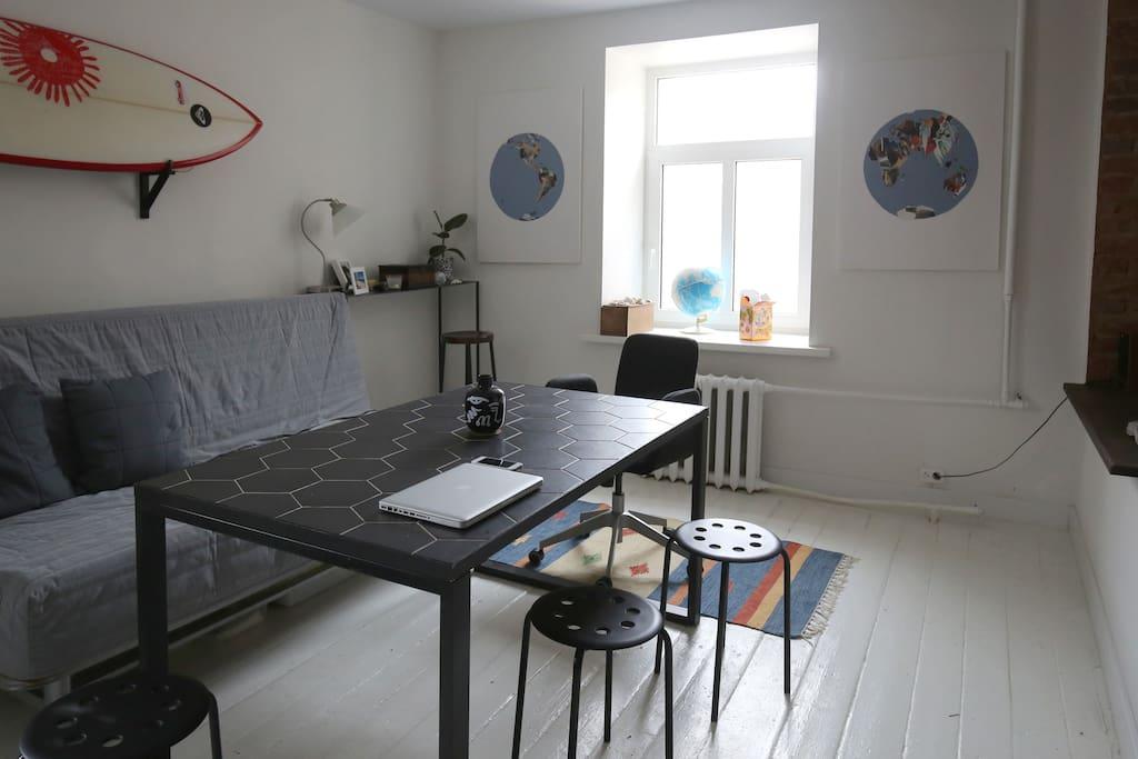 Столовая-гостинная / Dinning room