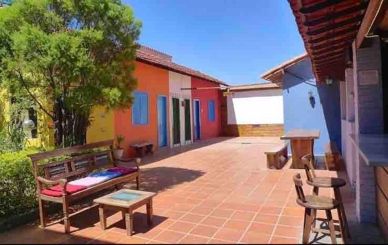 Vila Santê - quarto 4 camas