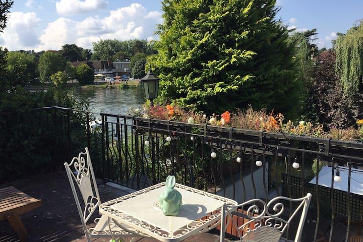River Thames near Windsor & London (Wraysbury)