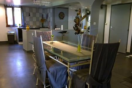 Chambres privées + grand espace de vie à Angoulême - House