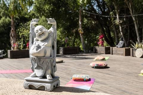 Malibu Zen Yoga Deck Outdoors