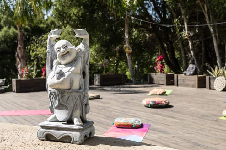 Malibu Zen Yoga Deck Outdoors
