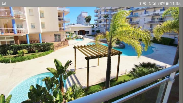 Bel appartement T3, avec piscine proche plage