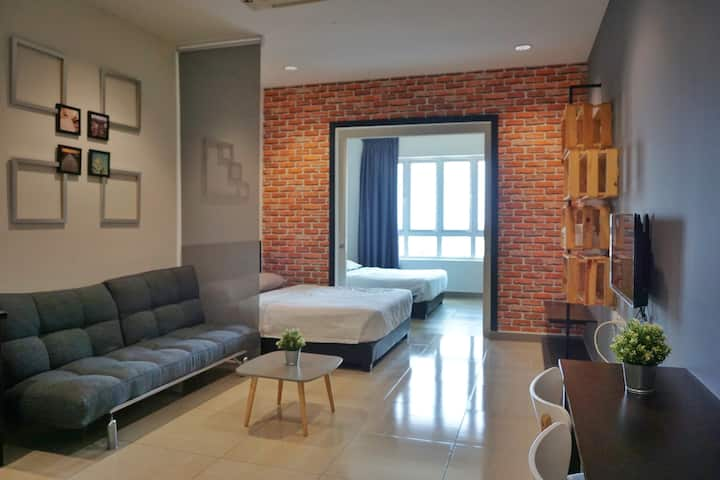 Ipoh Town - PM Octagon 1BR Apt 1