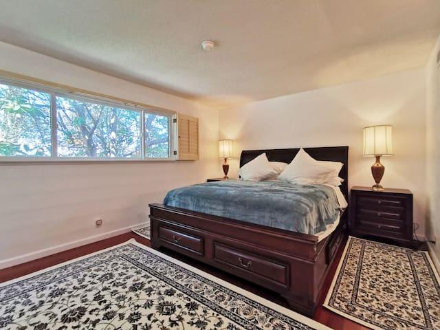 #1 Master bedroom with bathroom