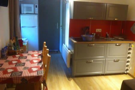 Joli studio tout neuf a la montagne - St Vincent les forts  - Apartamento