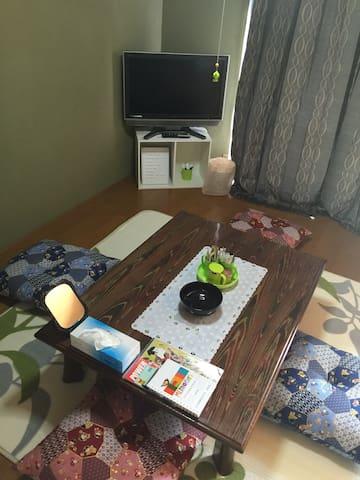 WIFI/T.V. ok./ 6BED / NEAR STATION - Nikkō-shi - Apartmen