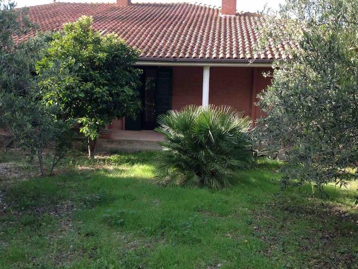 Villa in campagna affacciata su vigneto