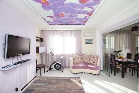 3 Rooms.Orchid Style apartment in Kotelniki 94 м2
