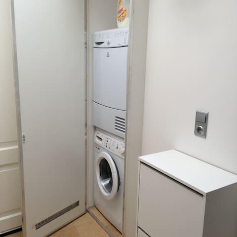 Privé deel luxe bovenwoning/Nice 2 bdr apartment - Noordwijkerhout - Apto. en complejo residencial