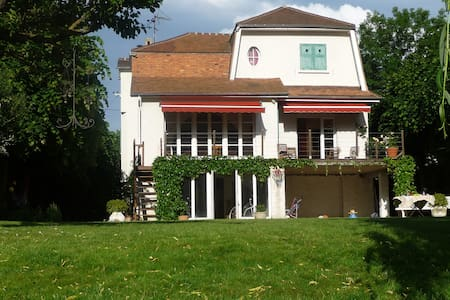 Maison avec jardin en bord de Seine - Villennes-sur-Seine - Huis