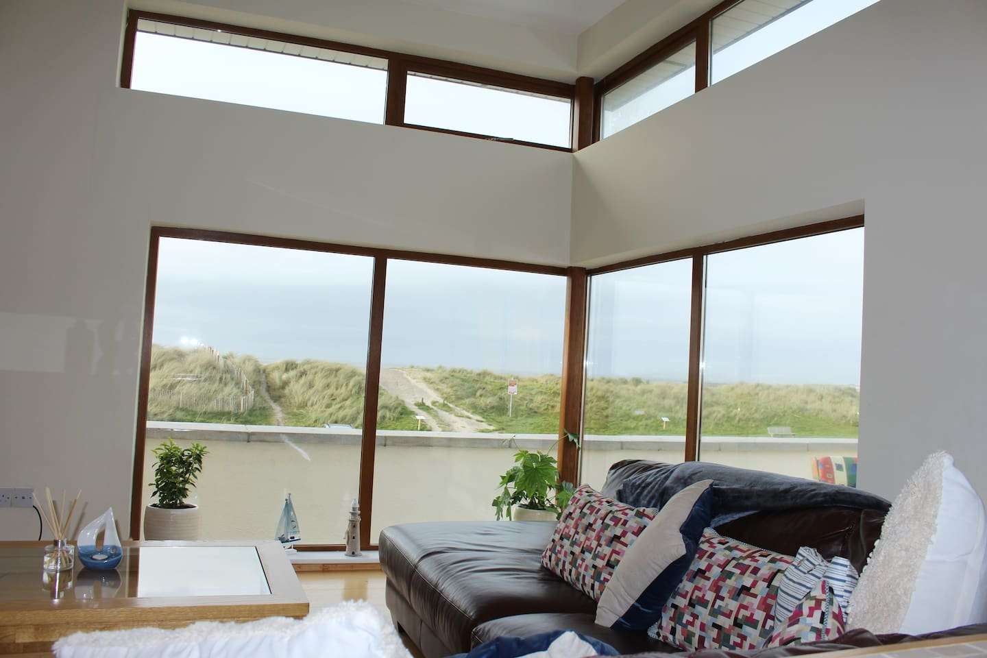 Sitting area. Relax and enjoy the views