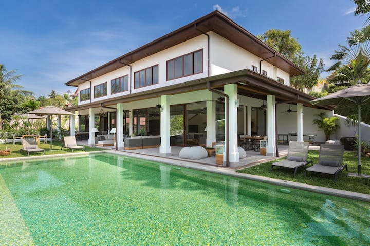[NEW] LEMONGRASS POOL VILLA, 8BR, 8BA, CHAWENG