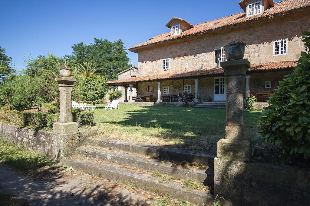Pazo do vilar casas rurales en alquiler en padr n galicia espa a - Casa rural o vilar ...