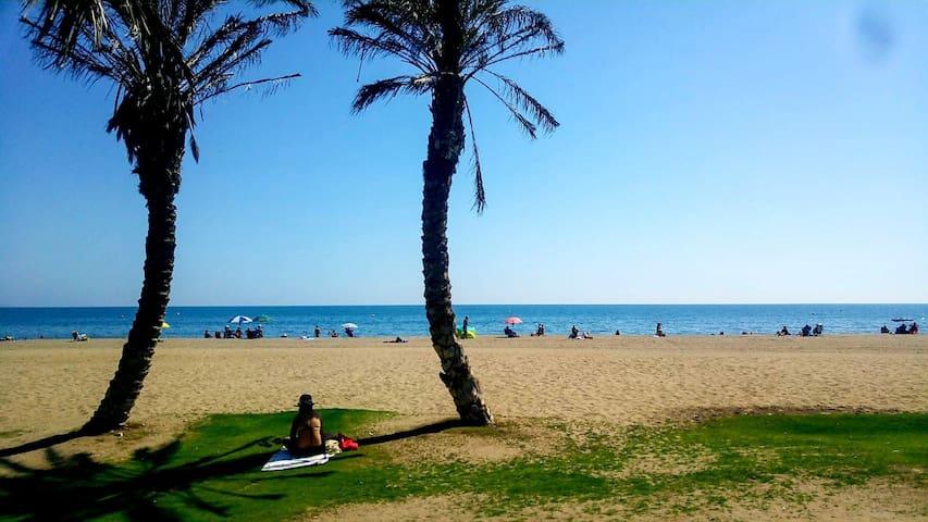 Apartamento en Playa de la Miser icordia.Málaga.