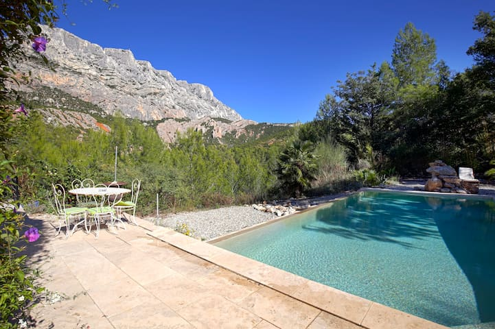 BEAUTIFUL HOUSE WITH POOL -STE VICTOIRE VIEW -AIX - Saint-Antonin-sur-Bayon