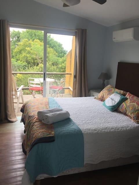 apartamento 4 de la playa para 2 con terraza