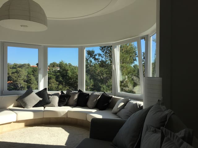 Stunning views of the Sintra Mountains and the Bay - Cascais - Appartement