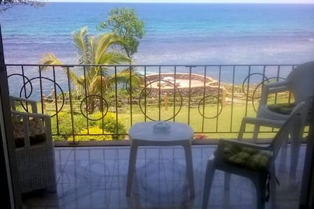 Private beach sea-front apartment  - Ocho Rios