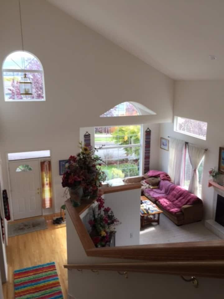 Upstairs north in Mallard house