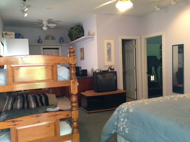 Private Suite 3 beds, full bath w/ kitchenette - Darlington
