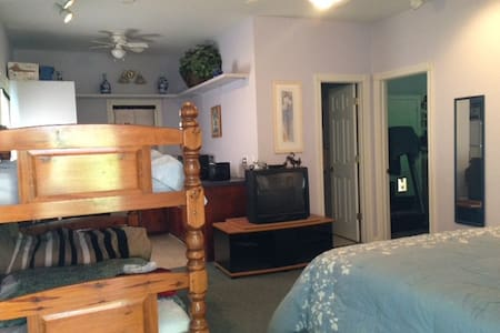 Private Suite 3 beds, full bath w/ kitchenette - Darlington - 公寓
