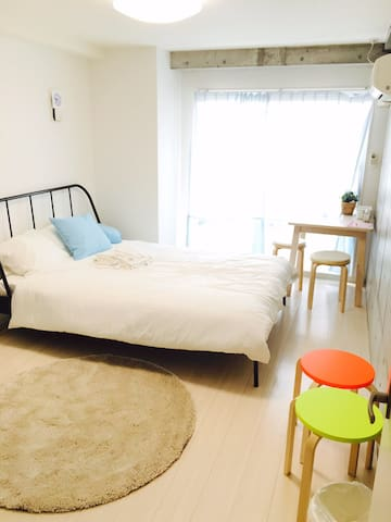 Clean Apt near Namba,USJ,Osaka,Shinsaibashi,Dome