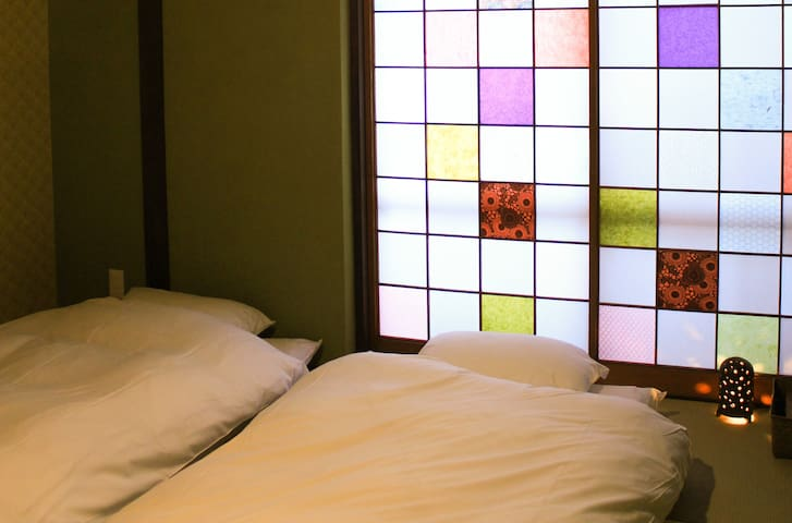 Expo Hostel Ori Room6, 500yen bike for your stay