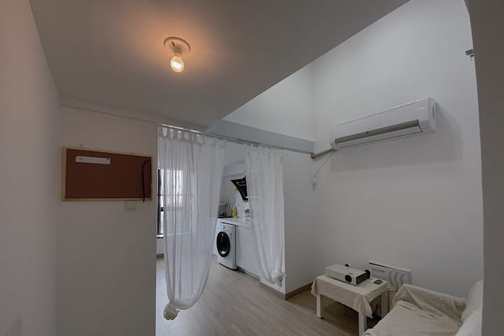 loft复式公寓/浦西万达广场/市中心/中骏广场/领show天地/西街钟楼/ins风公寓