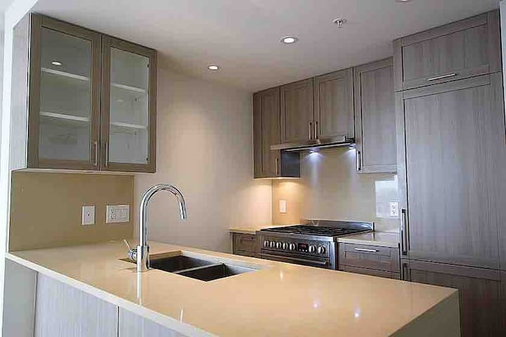 Brand new 2  bdrs 2 bathrooms apt near metrotown