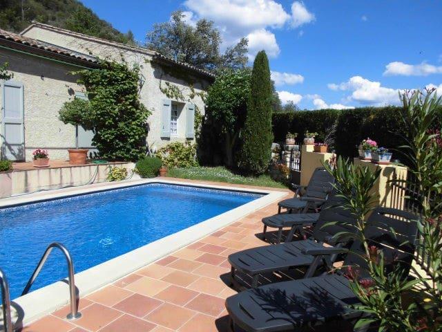 La maison du hibou - Allemagne-en-Provence - Pension