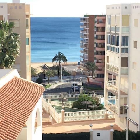 Apartamento playa con vistas al mar - Los Arenales del Sol - Apartamento